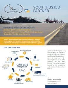 DCAA compliant ERP