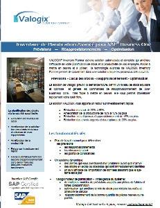 Planificateur d'inventaire pour SAP Business One par Valogix