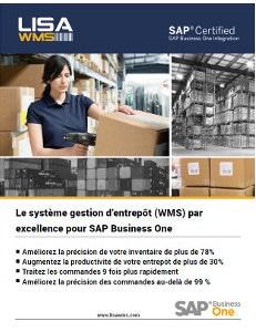 LISA WMS gestion d'entrepôt pour SAP Business One