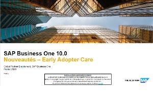 SAP Business One version 10.0 pour PME